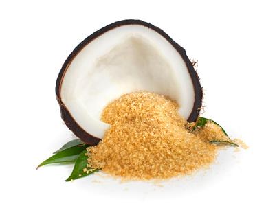 Kokoszucker für Desserts und Cocktails