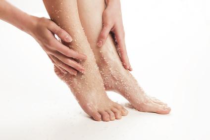 Kokosöl Fußpflege