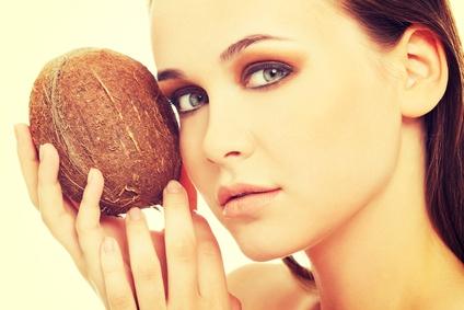 Kokosöl Feuchtigkeitsbehandlung für das Gesicht