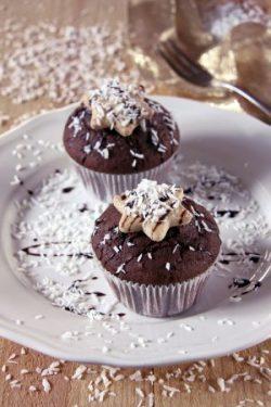 Schoko-Kokos-Muffin Laktose und Glutenfrei