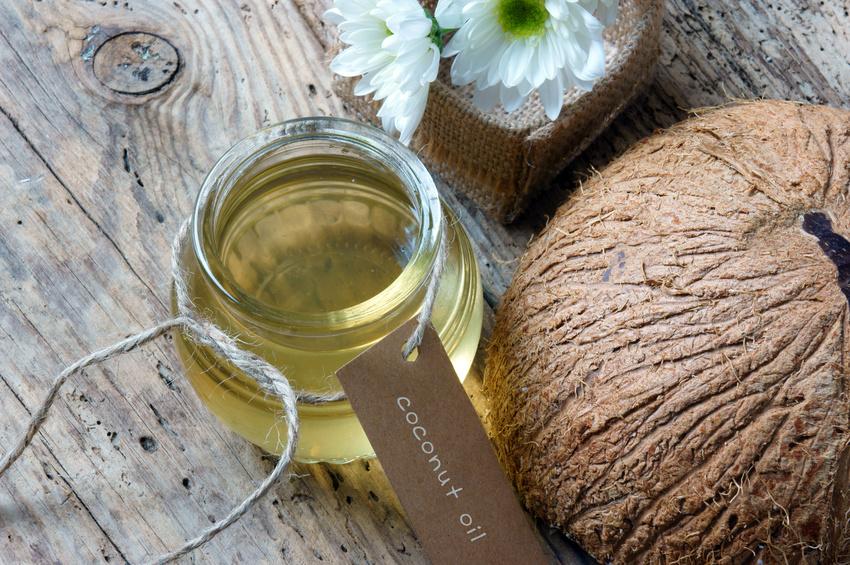 Kokosöl gegen den Pilz Candida albicans