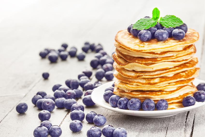 Pancakes low carb mit Kokosöl