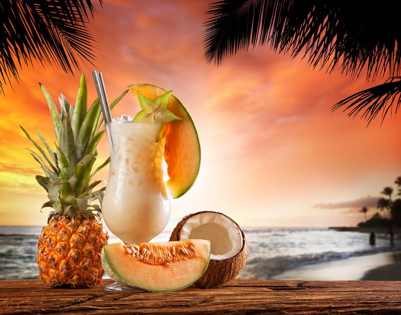 Pina Colada Bedeutet Ananas Ein Cocktail Ohne Alkohol