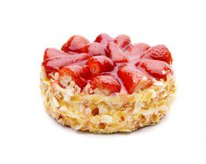 Erdbeer-Mandel-Kuchen